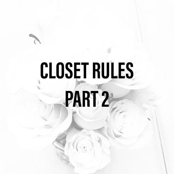 Vintage Denim - CLOSET RULES PART 2